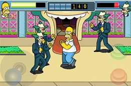 Simpsons Arcade iPhone screenshot