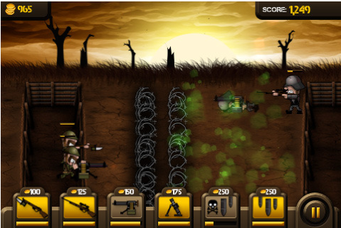 Trenches in World War 1 Game is Set During World War 1