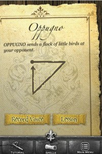 harry potter spells iphone