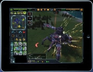 supreme commander 2 ipad mockup