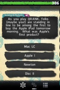 qrank iphone
