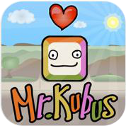 mr kubus iphone logo