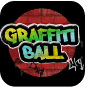 graffiti ball iphone review logo