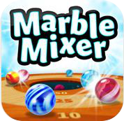 marble mixer iphone game review logo