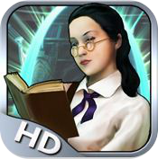 The Mystery of the Crystal Portal HD ipad review logo