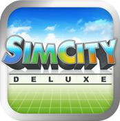 simcity deluxe iphone game review logo