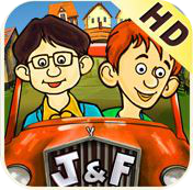 jim and frank ipad review logo